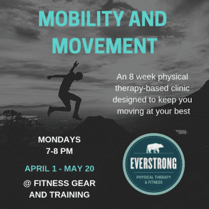 8-week movement and mobility clinic: Fitness Gear and Training @ Fitness Gear and Training