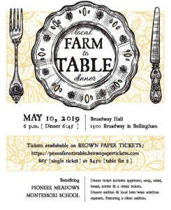 9th Annual Farm To Table Dinner @ Broadway Hall