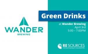 Green Drinks at Wander Brewing @ Wander Brewing