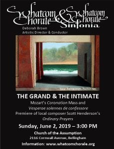 "Whatcom Chorale: ""The Grand and the Intimate"" @ Church of the Assumption (Bellingham)"