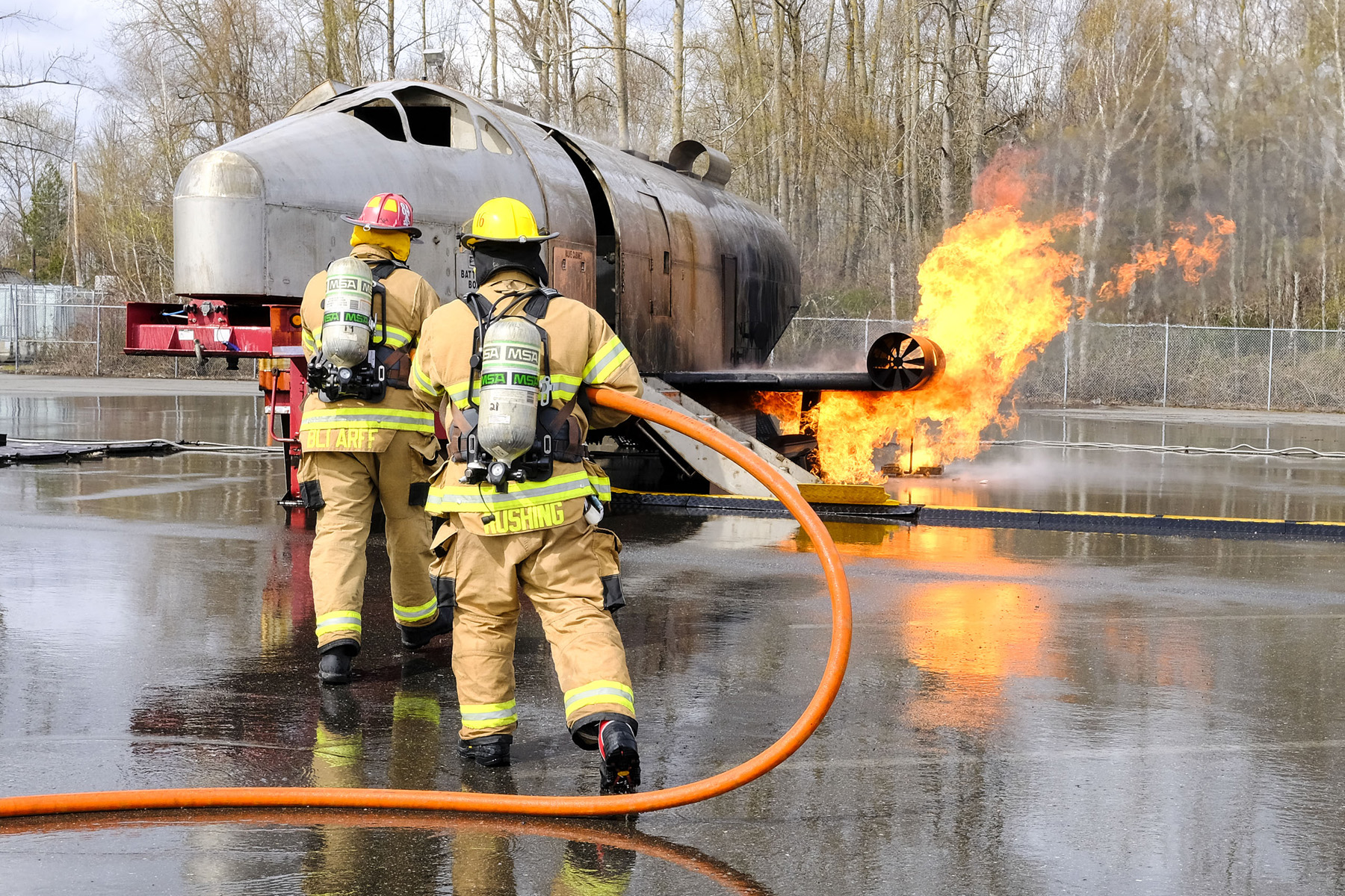 Bellingham Airport to Conduct Aircraft Firefighting