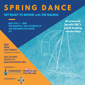 Spring dance to benefit the Community Boating Center @ The Majestic Ballroom