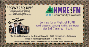 KMRE benefit fundraiser: Powered Up! @ Hotel Leopold