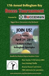 17th annual Bocce Ball Tournament @ Bellingham Sportsplex