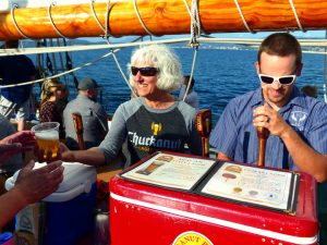 Zodiac Cruise with Chuckanut Beer Dinner @ Bellingham Cruise Terminal