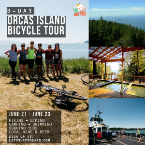 Orcas Island Bicycle Tour