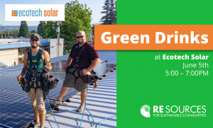 Green Drinks at Ecotech Solar @ Ecotech Solar