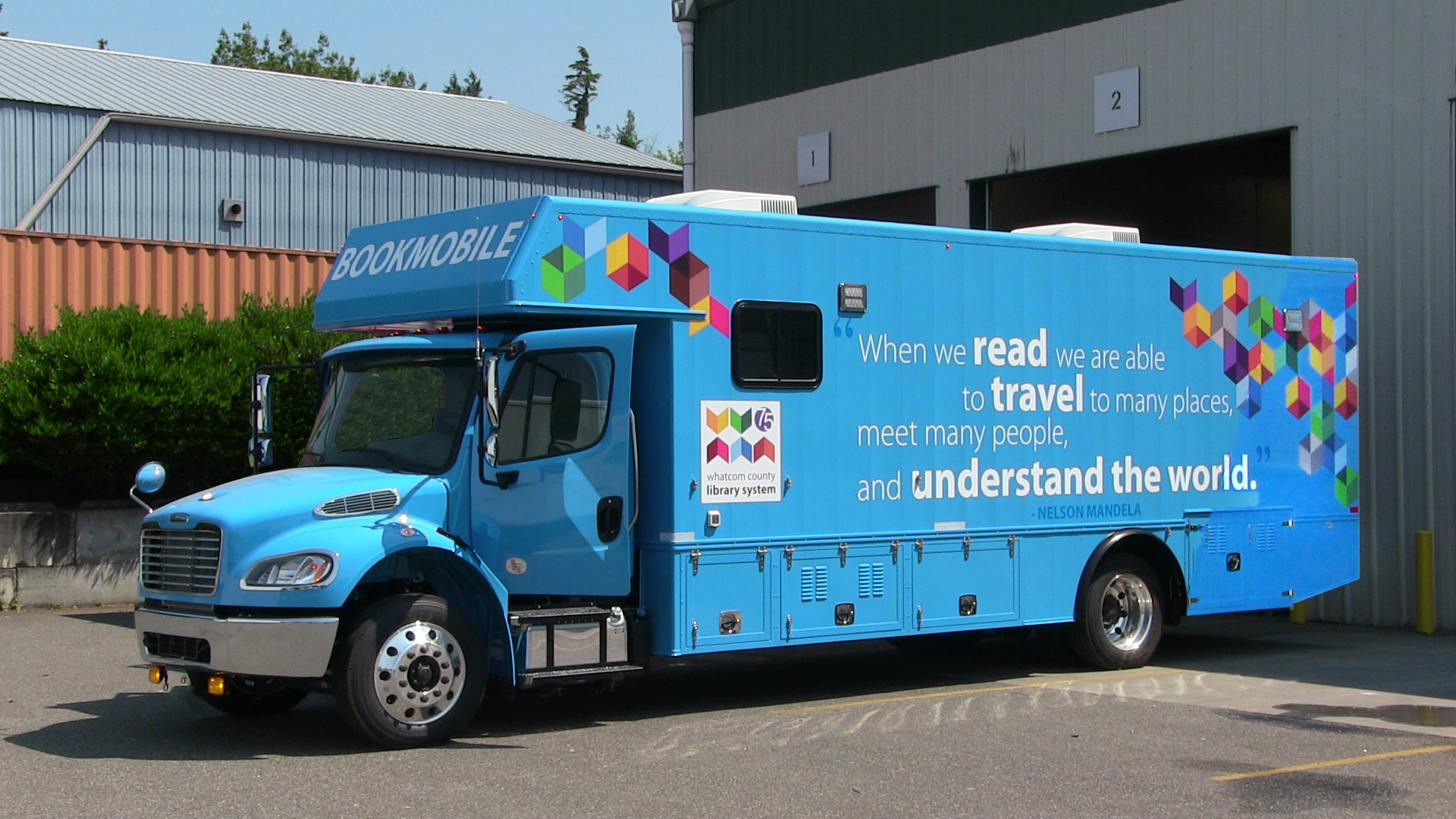 Whatcom County Library System Launches New Bookmobile ...