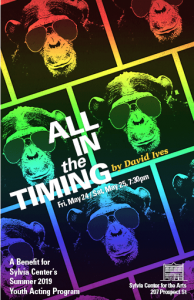 ALL IN THE TIMING: Benefit for Youth Acting Program @ Sylvia Center for the Arts