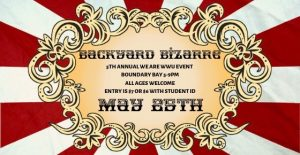 WeAreWWU: Backyard Bizarre @ Boundary Bay Brewery