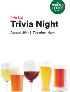 Trivia Night | Whole Foods Market @ WFM | Far North Lounge