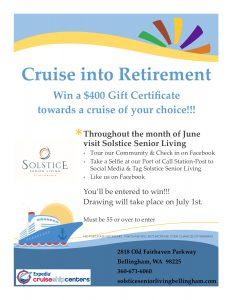 Cruise Into Retirement @ Solstice Senior Living