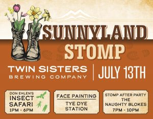 Sunnyland STOMP at Twin Sisters Brewing @ Twin Sisters Brewing Company