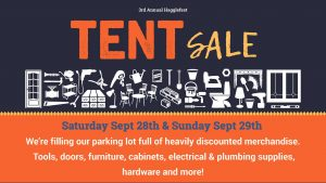 Hagglefest, The RE Store's Annual Tent Sale @ The RE Store