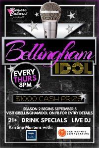 Bellingham Idol @ Rumors Cabaret