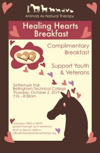 Healing Hearts Breakfast @ Settlemyer Hall, BTC