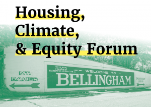 Bellingham Candidate Forum: Housing, Climate, and Equity @ Options High School