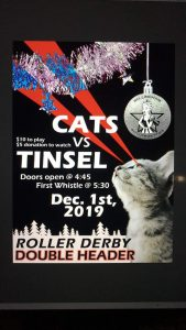 Bellingham Roller Betties Holiday Scrimmage:  Cats vs. Tinsel @ Lynden Skateway