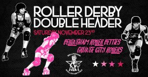 Bellingham Roller Betties vs. Grunge City Rollers @ Lynden Skateway