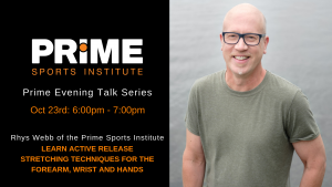 Learn Active Release Stretching Techniques @ Prime Sports Institute