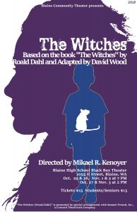 """Blaine Community Theater presents """"The Witches"""" @ Blaine High School Black Box Theatre"""