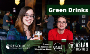 Green Drinks at Aslan Depot @ Aslan Depot