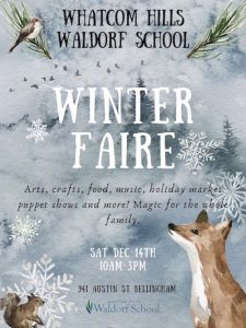 Whatcom Hills Waldorf School Winter Faire @ Whatcom Hills Waldorf School