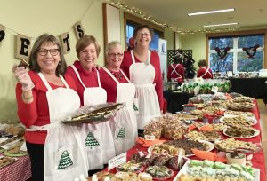 Assistance League Yule Boutique @ Grace Center on the campus of Trinity Lutheran Church