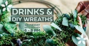 Drinks & DIY Wreaths @ Thousand Acre Cider House