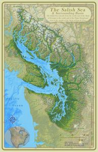 The Story of the Salish Sea Map @ Western Washington University Libraries - Map Collection