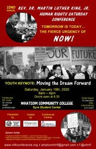 22nd Annual Rev. Dr. Martin Luther King, Jr. Human Rights Conference @ Whatcom Community College Syre Center