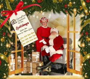 Santa is coming to Homeport Interiors & Options Cabinetry!  (Free 5x7 photo with donation) @ HomePort Interiors