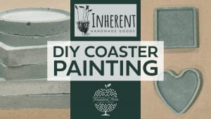DIY Coaster Painting with Inherent Handmade Goods @ Thousand Acre Cider House