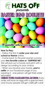 Hats Off: Easter Egg Hoodie Roulette