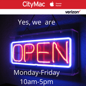 CityMac: Apple Product Service Needs OPEN to help keep you communicate with loved ones!
