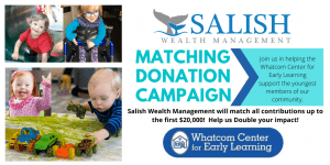 Salish to Salish 10K Matching Donation Campaign supports WCEL