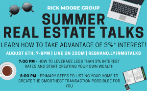 FREE ONLINE ZOOM REAL ESTATE EVENT @ ON ZOOM