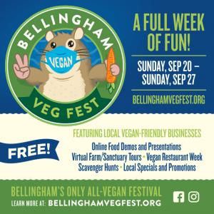 Belllingham Veg Fest Week @ Online