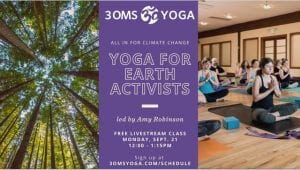 Yoga for Earth Activists @ online