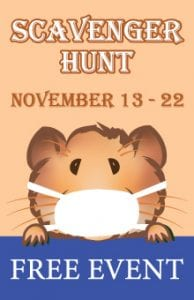 "2020 Hamster ""Socially Distant"" Scavenger Hunt @ Across Whatcom County"