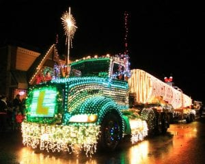 Northwest Lighted Christmas (Drive-By) Parade @ Downttown Lynden