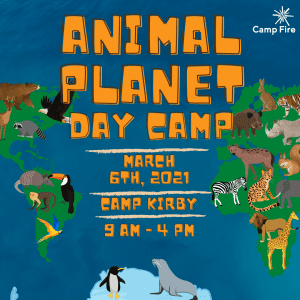 Animal Planet Day Camp @ Camp Kirby