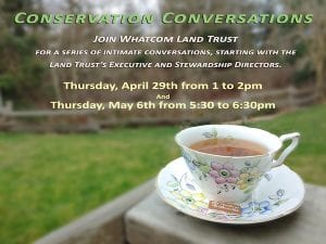 Conservation Conversations with Whatcom Land Trust @ Online Event