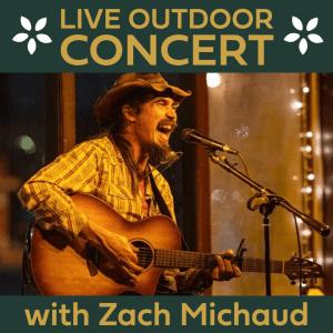 Live Music: Zach Michaud @ Thousand Acre Cider House