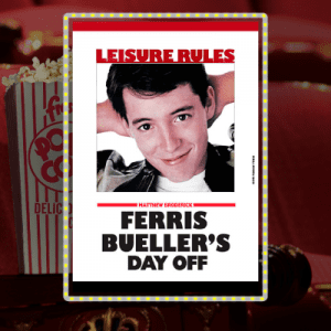 MBT Movie Palace Series: Ferris Bueller's Day Off @ Mount Baker Theatre