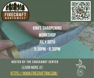 Knife Sharpening by Hand - Workshop @ Chuckanut Center