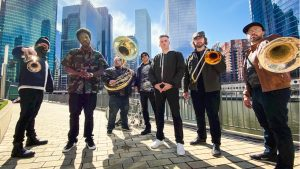 Chicago's LowDown Brass Band @ Hotel Bellwether (Blues, Brews, and BBQ)