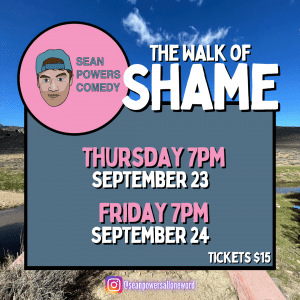 A Comedy Show: The Walk of Shame. PCT Hikers Walks to his First Comedy Show @ Firehouse